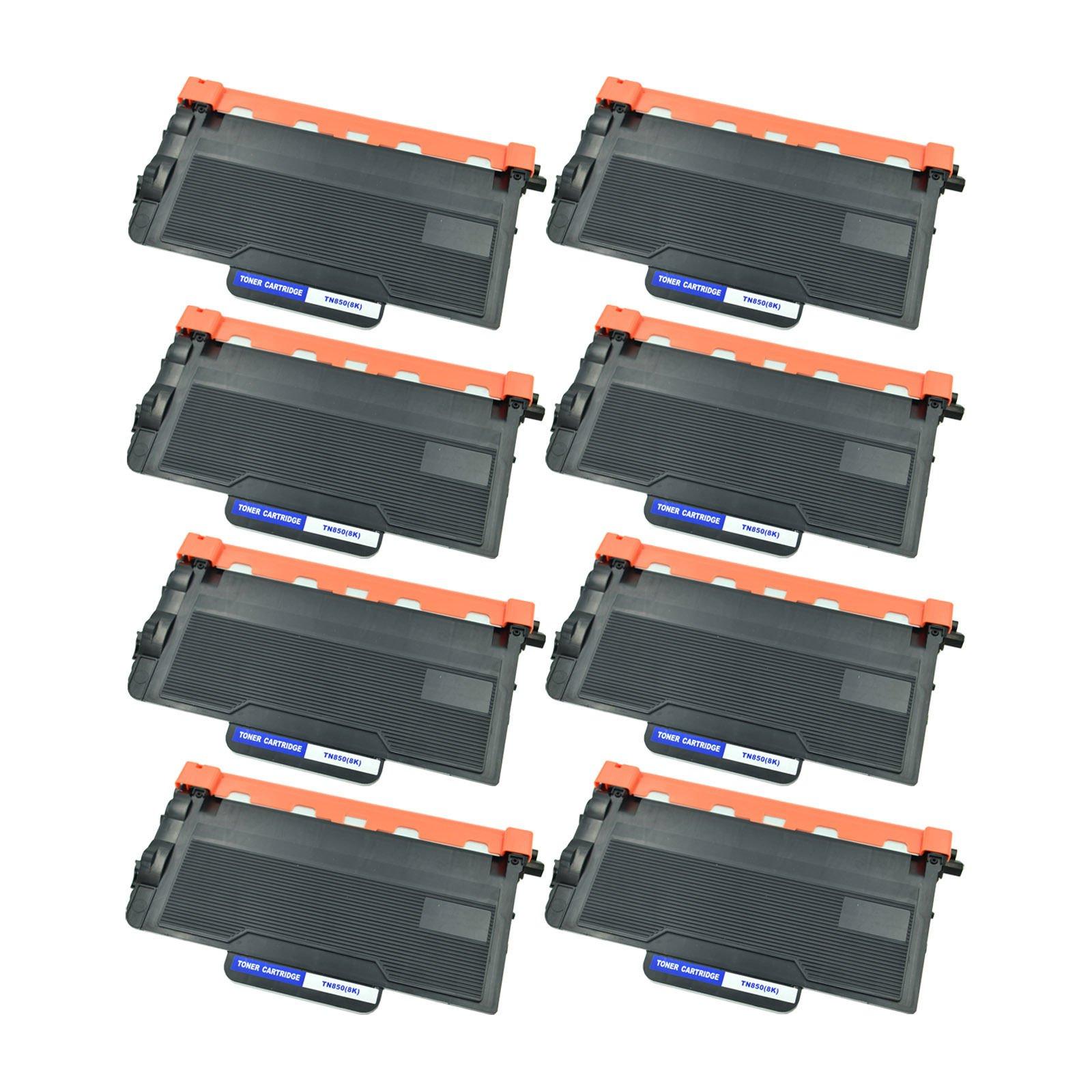 Purpplex New Compatible TN850 Laser Toner Cartridge for Brother MFC-L5900DW HL-L6300DW DCP-L5650DN Printers – 8 Black