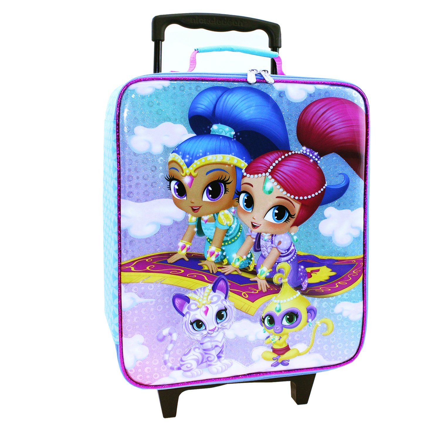 Nickelodeon Girls' Shimmer and Shine Pilot Case, Blue