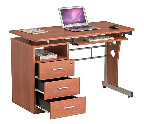 Scrivania con cassetti mobili ufficio casa tavolo da scrivania con ...