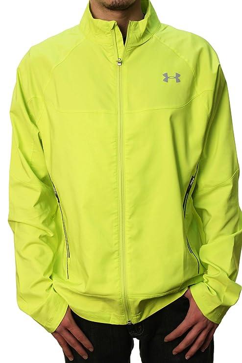 80d3ec63e Under Armour Men's UA Performance Coldgear Running DFO Jacket Yellow:  Amazon.ca: Sports & Outdoors