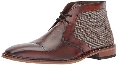 Giorgio Brutini Men's Rowan Oxford Brown Size 7.0