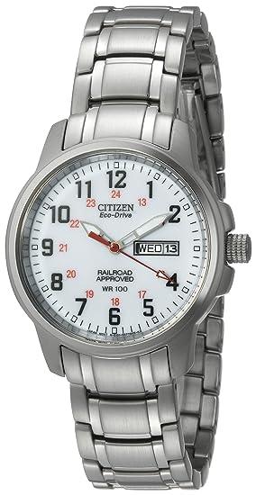 Citizen BM8180-54A - Reloj , correa de acero inoxidable color plateado: Amazon.es: Relojes