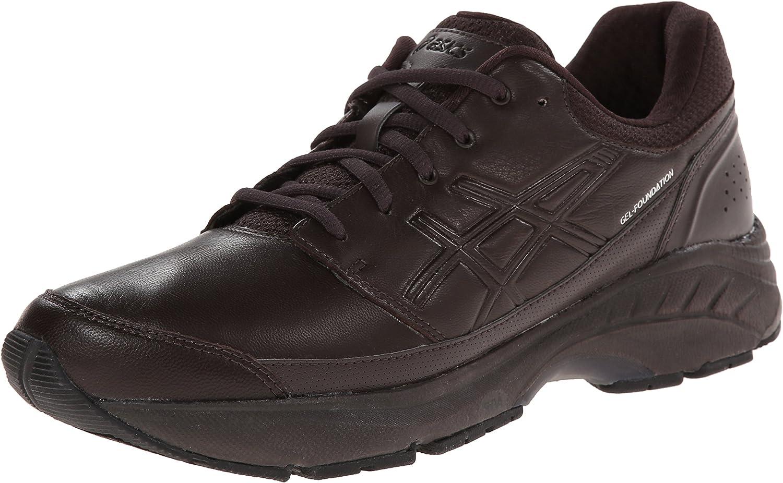 Habitar audiencia eternamente  ASICS Men's Gel-Foundation Workplace Walking Shoe,Dark Brown/Black,7.5 M  US: Amazon.ca: Shoes & Handbags