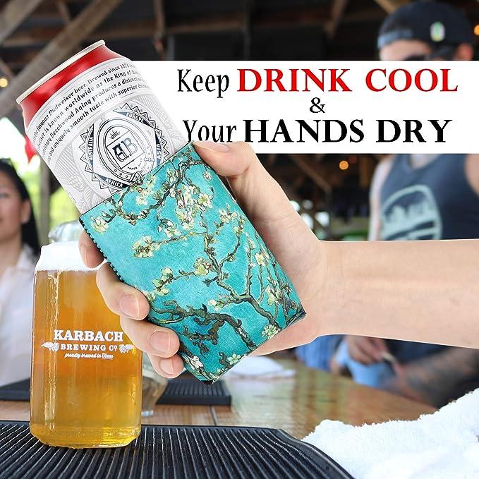 Hochwertiger Multikühler -hülle von DRESS-YOUR-DRINK Dosen /& Flaschen kühler