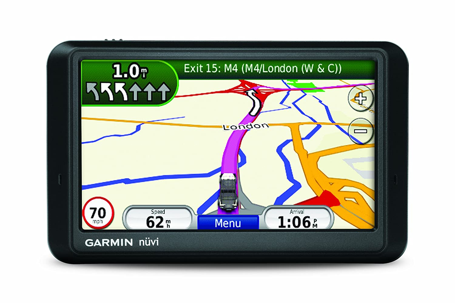 garmin nuvi 765t map