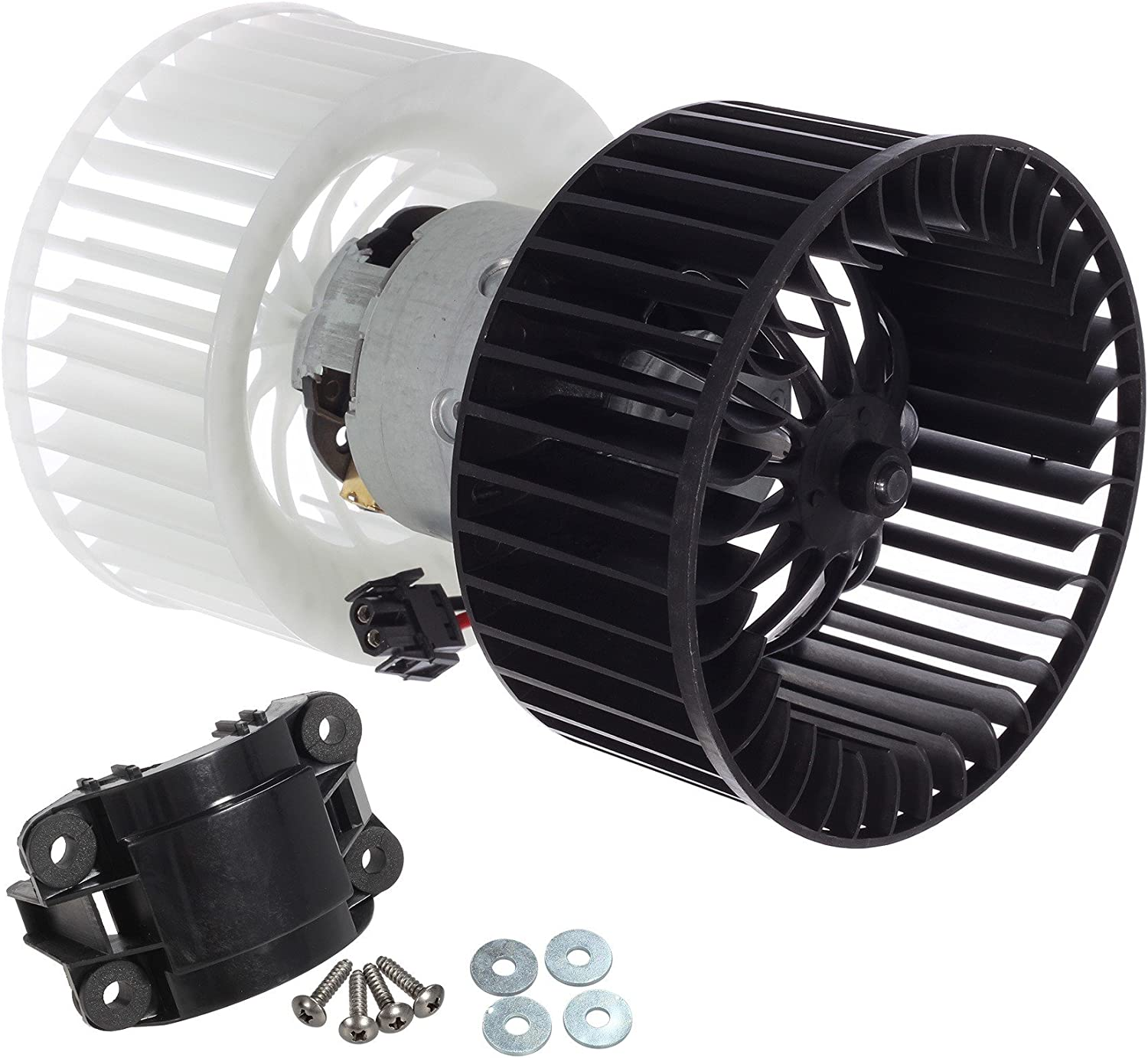 BMW 1//3-Series X1 X3 Z4 E87 E90 Heater AC A//C Blower Motor Assembly w//Fan Cage