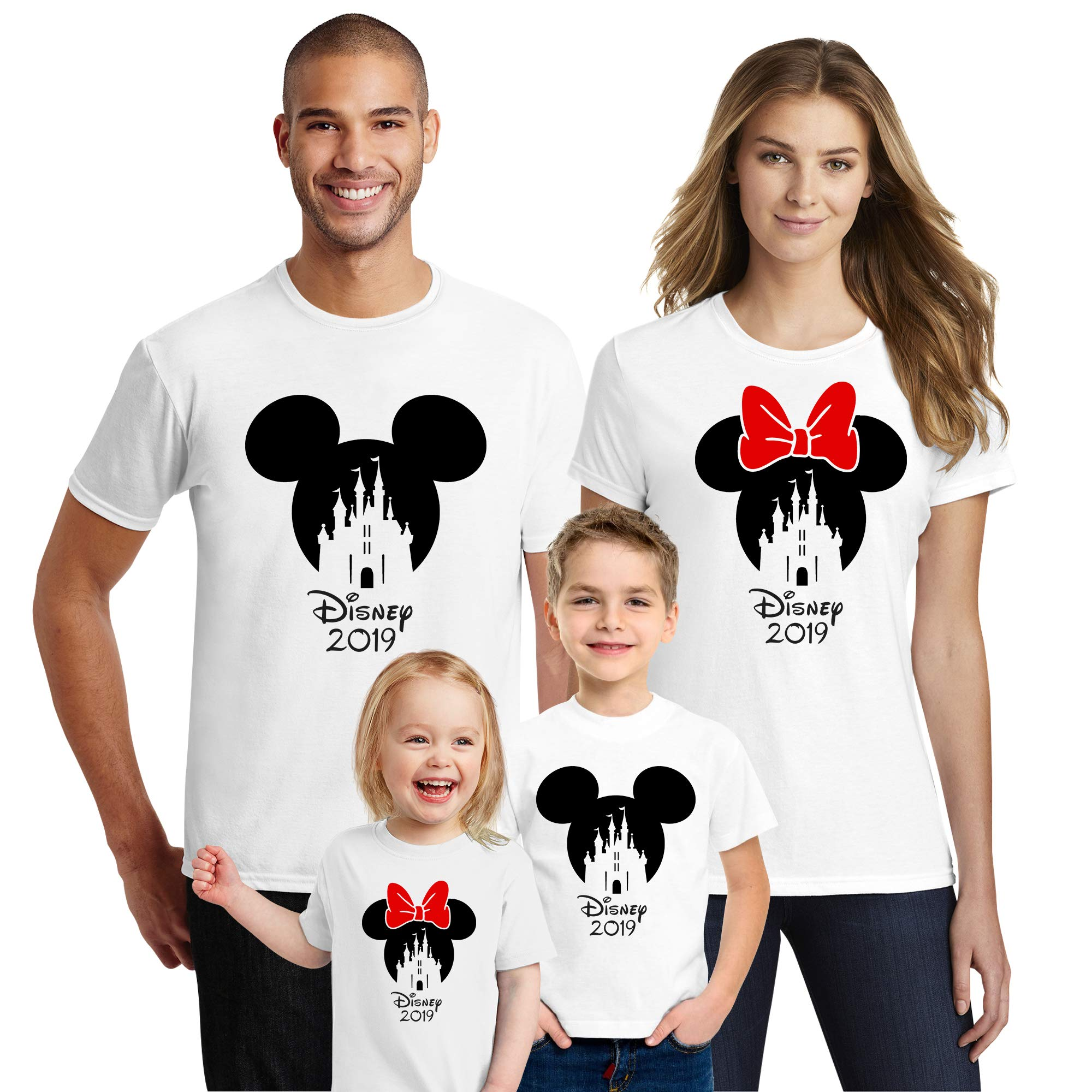Natural Underwear Castle with 2019 T-Shirts Shirts Trip Mouse Crew Neck T Shirts White Youth Boys Small