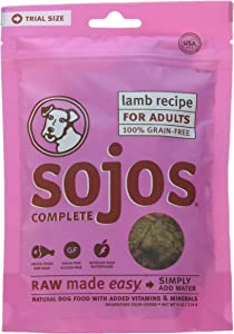 Sojos Complete Natural Freeze-Dried Natural Raw & Dehydrated Grain-Free Dog Food