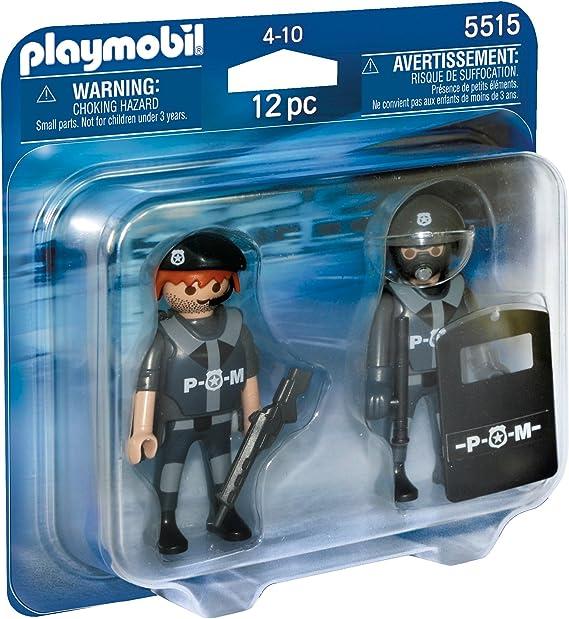 PLAYMOBIL Duo Pack - City Life Figuras Policías Juegos de ...