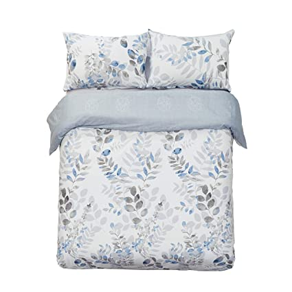 Home & Garden Luxury Freshly Floral Fern 300 Thread Count 100% Cotton Sheet Sets New Varieties Are Introduced One After Another Bedding