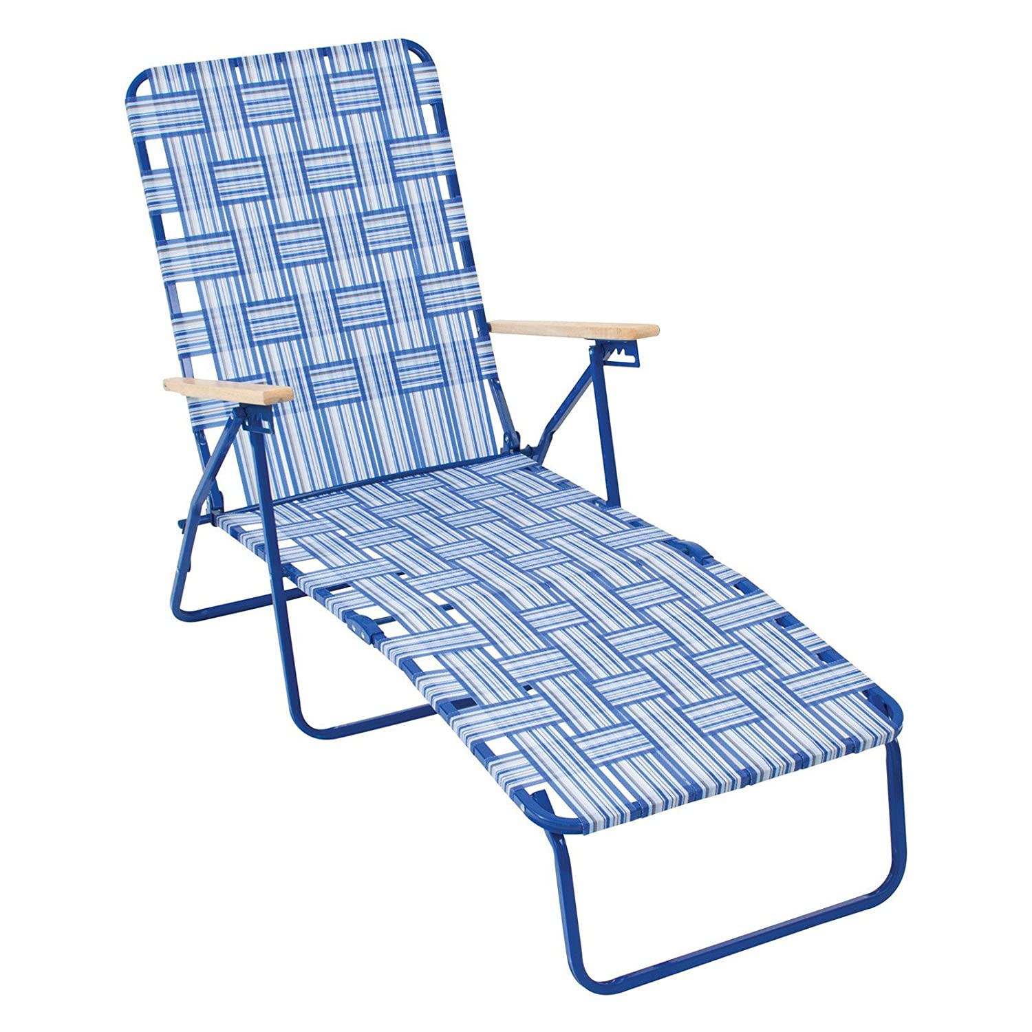 Amazon Rio Brands Rio Deluxe Folding Web Chaise Lounge Chair
