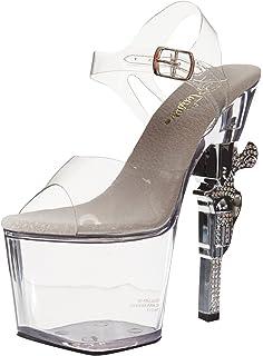 eeddc35fbe1 Pleaser Women s Revolver-708 Platform Sandal