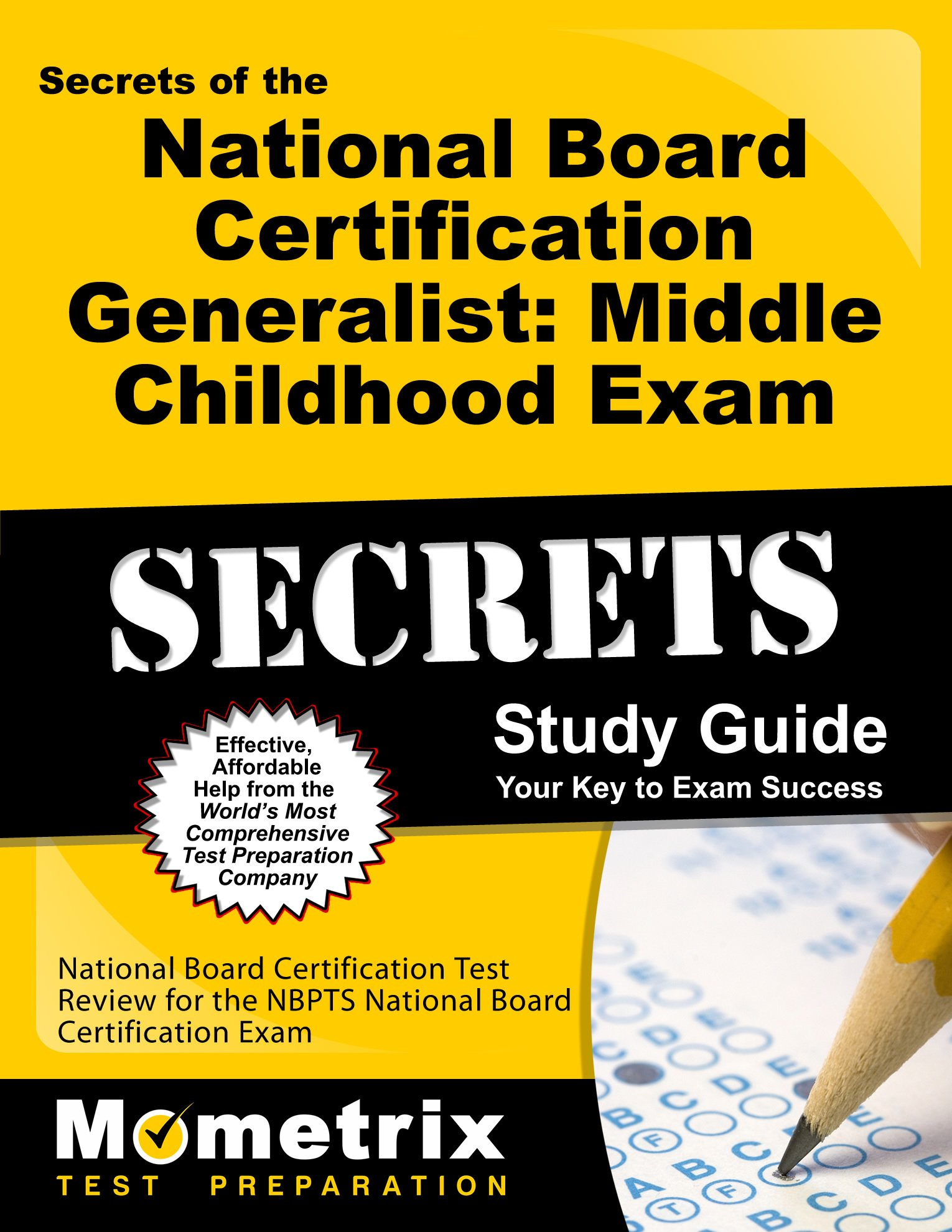 Secrets Of The National Board Certification Generalist Middle