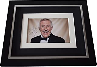 Sportagraphs Bruce Forsyth SIGNED 10x8 FRAMED Photo Autograph Display Strictly Come Dancing PERFECT GIFT