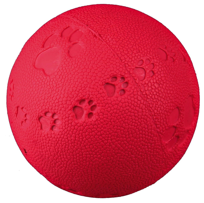 Trixie Palla gioco con impronte in gomma naturale