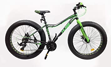 VELO Bicicleta Fat Bike de 26 Pulgadas, Marco de Aluminio, Frenos ...