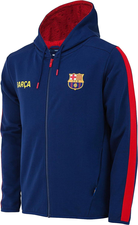 Fc Barcelone Sweat Capuche Barca Collection Officielle Taille Enfant gar/çon