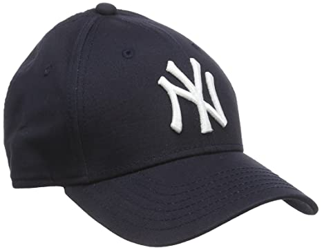 3cb0ebb45f0e7d New Era Boy's Kids MLB Basic NY Yankees 9Forty Adjustable Cap, Blue (Navy)