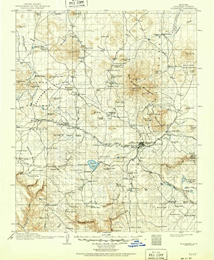 Map Of Flagstaff Arizona.Amazon Com Yellowmaps Flagstaff Az Topo Map 1 125000 Scale 30 X