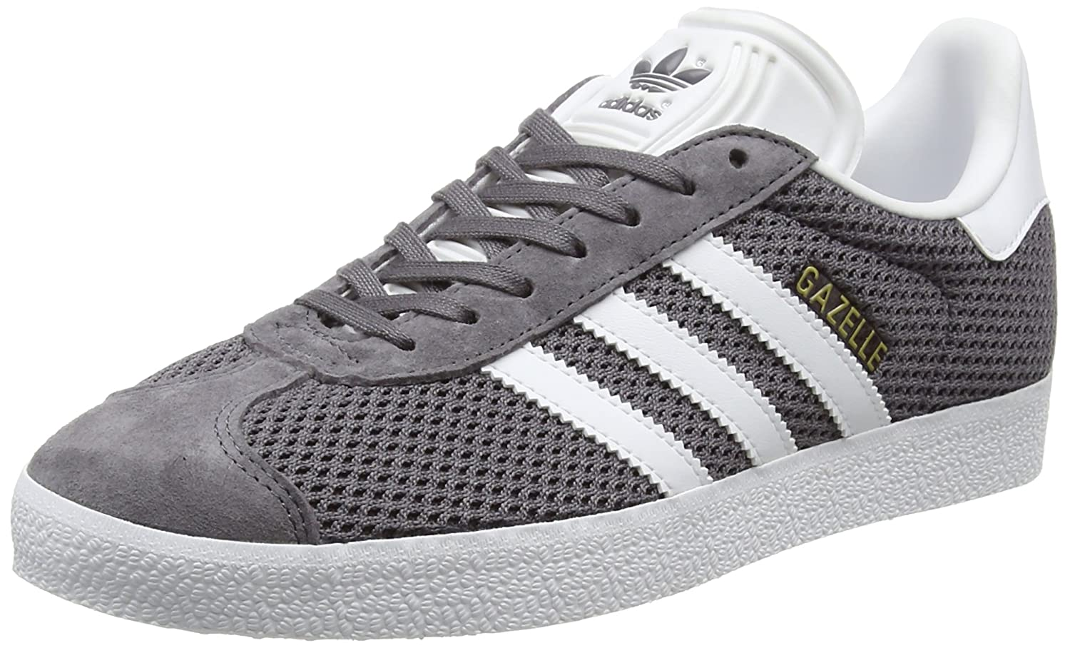 adidas Adulte Gazelle, Baskets Basses Gris Mixte (Trace Adulte Gris (Trace Grey/Footwear White/Trace Cargo) fc14886 - boatplans.space