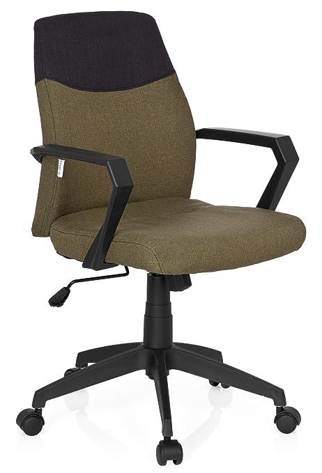 Hjh Office Home Office Bürostuhl Grün Ohne Kopfstütze