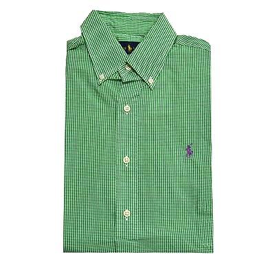 e4105967ac0 Polo Ralph Lauren Men's Short Sleeve Button Down Shirt
