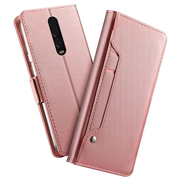 online store 44c80 546fb Amazon.com: OnePlus 6T Wallet case Yuqoka OnePlus 6T Flip case ...