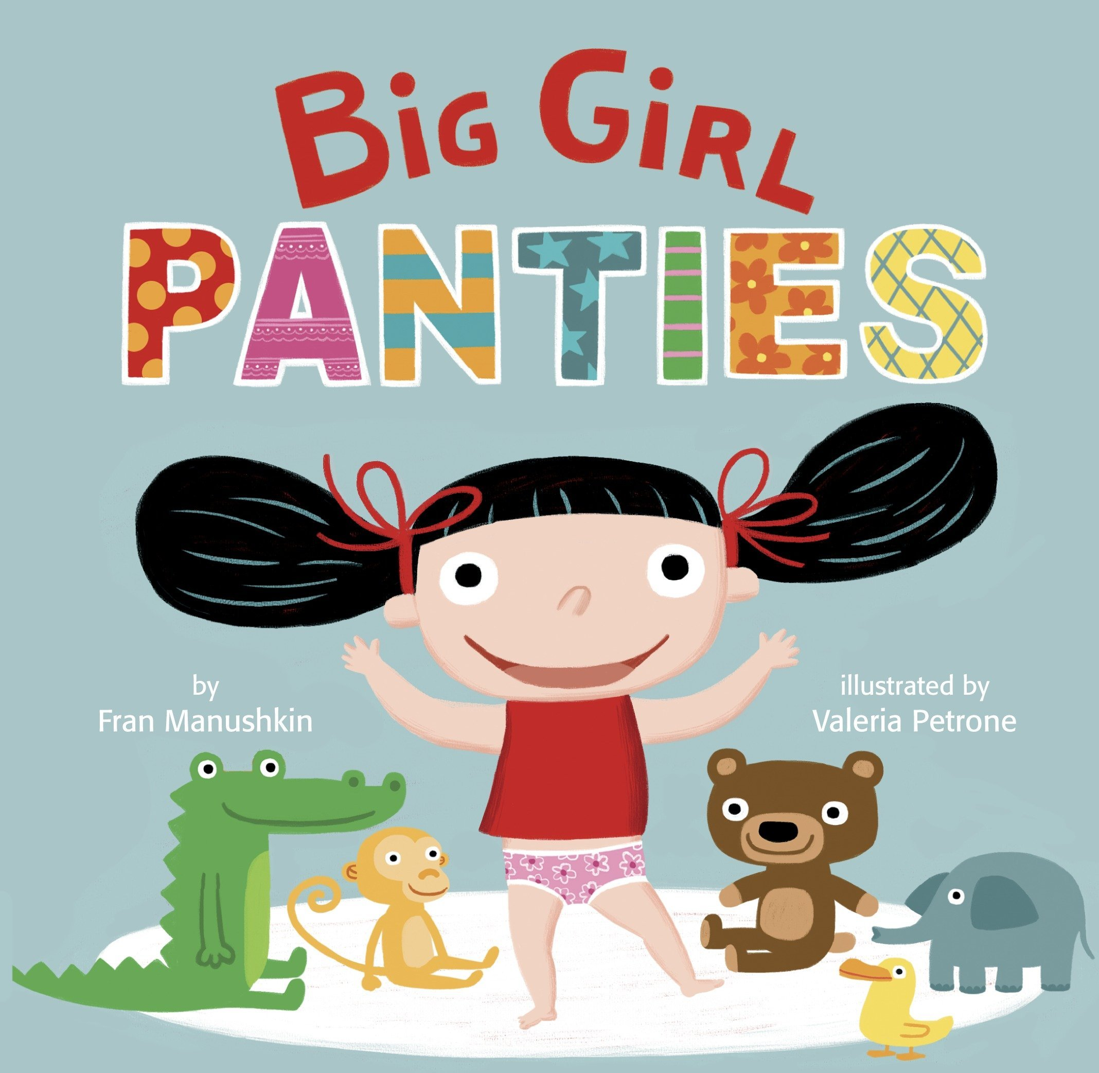Image result for Big Girl Panties by Fran Manushkin