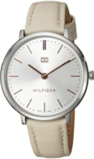 Tommy Hilfiger Womens Sophisticated Sport Quartz Stainless Steel and Leather Casual Watch, (