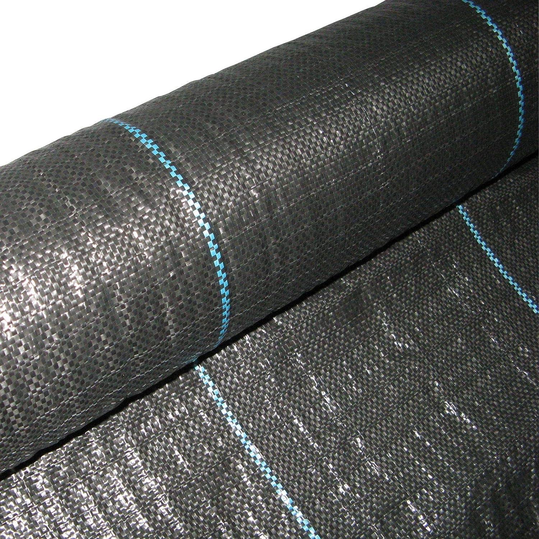 Masgard® Bändchengewebe 100 g/m² Bodengewebe Unkrautfolie Verschiedene Abmessungen Hohe UV-Stabilisierung (1, 00 m x 10, 00 m = 10 m² (Gefaltet)) 00 m = 10 m² (Gefaltet))