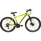 Hercules Roadeo A50 26T 21 Speed Premium Geared Cycle(Radiant Yellow)