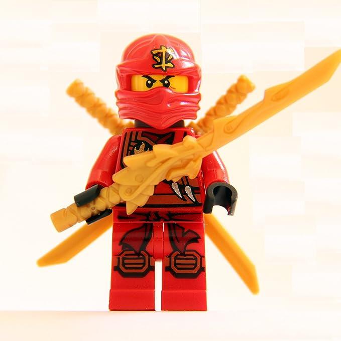 LEGO Ninjago - Minifigura Kai (ninja rojo) con armadura ...