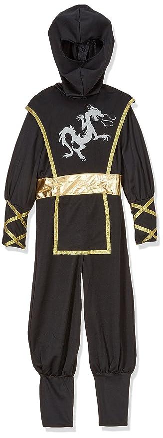 Cesar - Traje Ninja Disfraz Completo para niños de 5-7 años, 116 ...