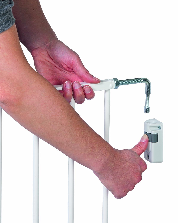 verstellbares T/ürschutzgitter aus Holz Schraubenbefestigung Safety 1st 24370100 Wall Fix