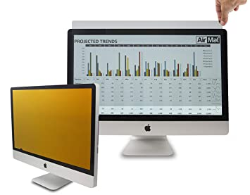Gold Privacy Screen filter for 22 Widescreen Computer Monitors ANTI-GLARE By GeckoCare
