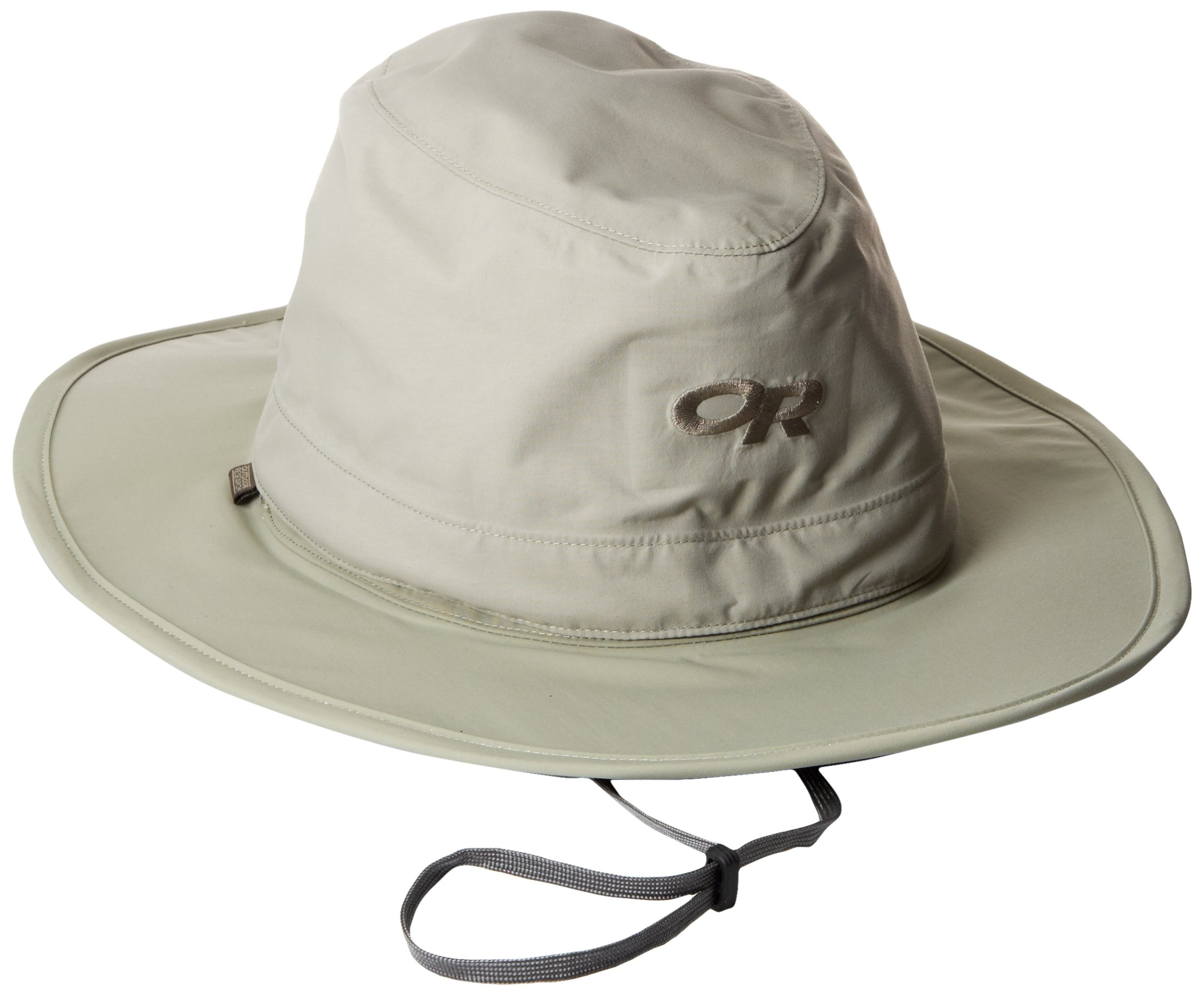 Outdoor Research Ghost Rain Hat, Khaki, Large