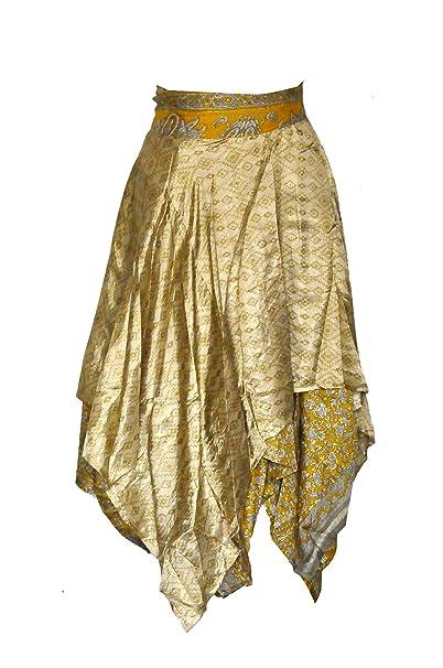 d1880619ac722 GothikShop Women Magic Sarong Vintage Pareo Bikini Cover Up Dress Sari Wrap  Skirt