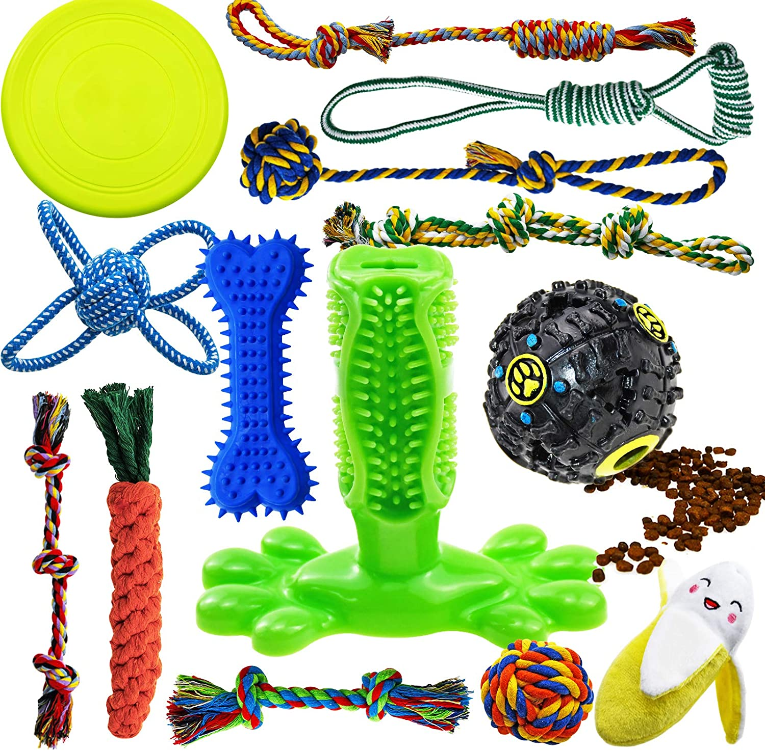 SHARLOVY Dog Chew Toys for Puppies