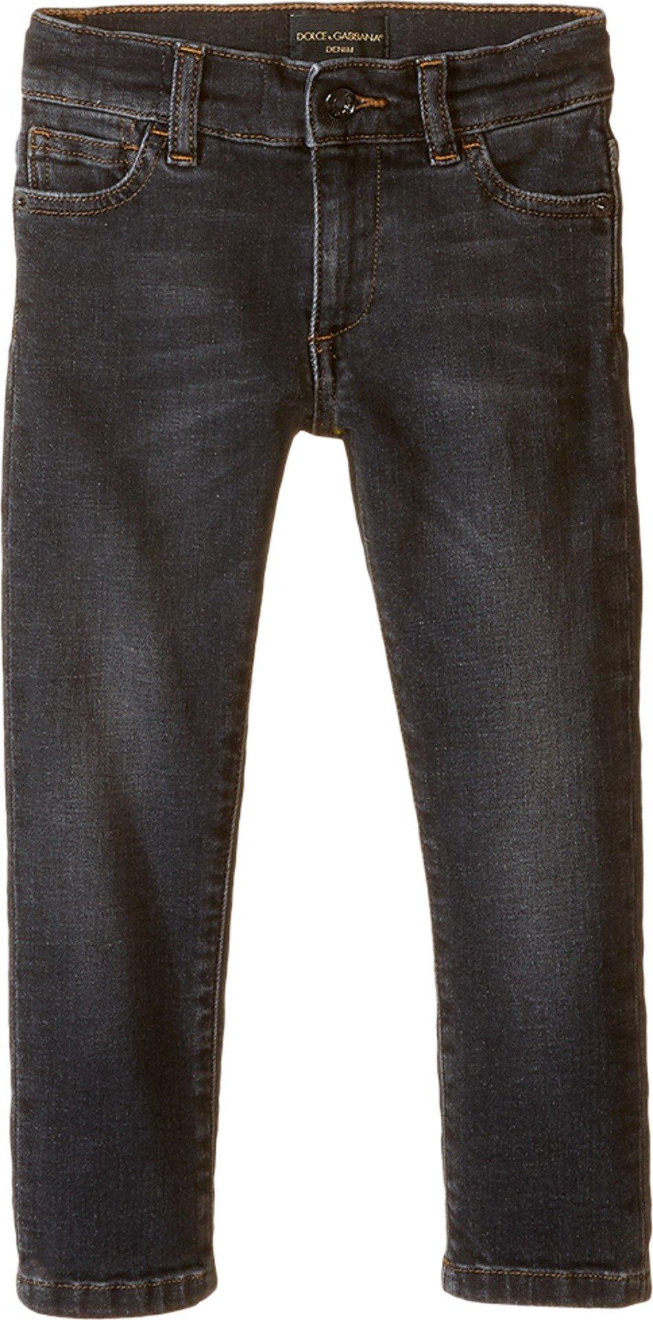 Dolce & Gabbana Kids Boys' Back To School Jeans (Little Kids), Grey Denim, 2T (Toddler) X One Size