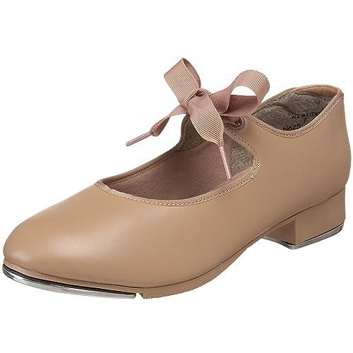 Womens N625 Jr. Tyette Tap Shoe,Black Patent,5.5 M US Capezio