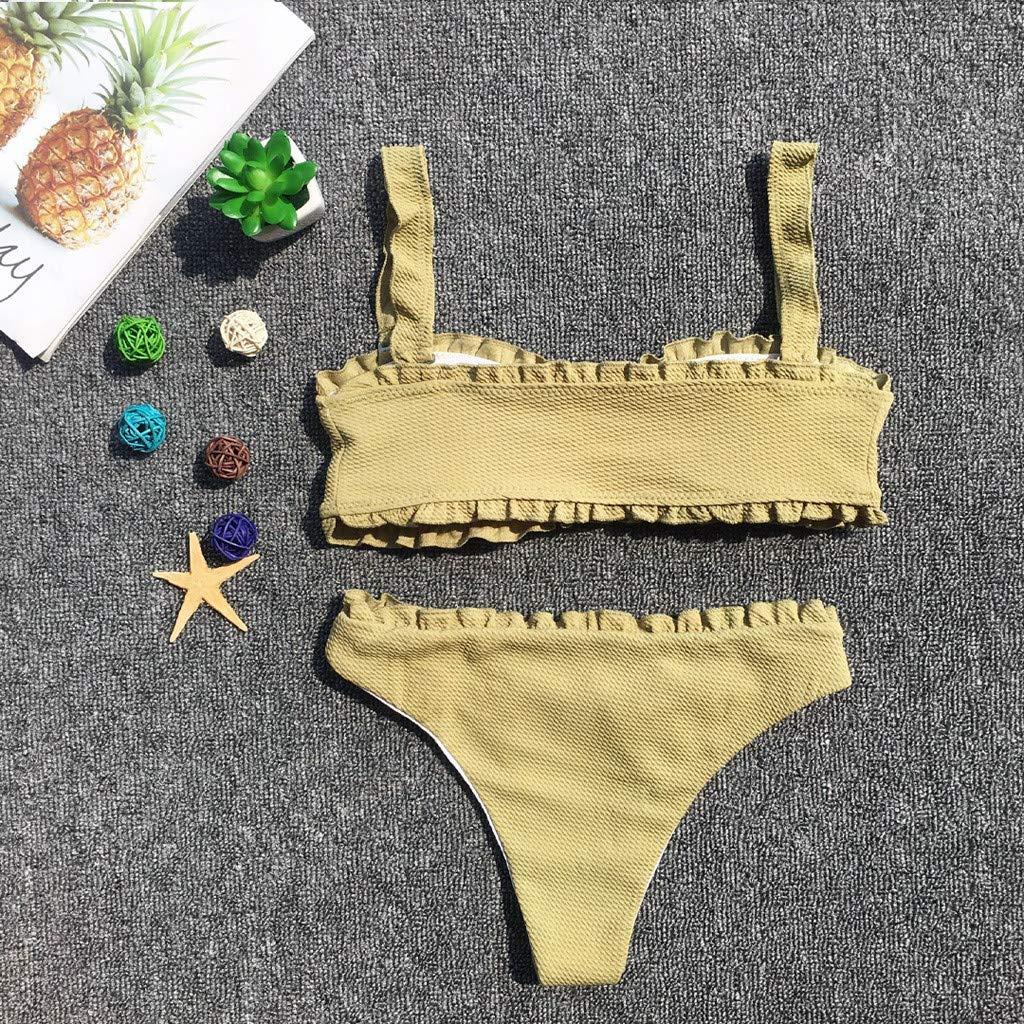 Pandaie-Womens Swimsuits Women Swimwear Beachwear Push up One Piece Bikini Swimsuit Bathing Suit
