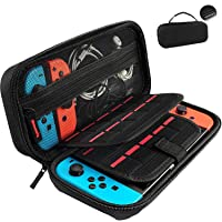 GameFan Switch Carrying Case compatible with Nintendo Switch - 20 Game Cartridges Protective Hard Shell Travel Carrying…