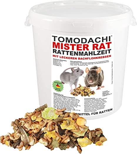 Rata Forro con tierischem Proteínas, Solo los alimentos para ...