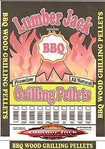 Lumber Jack LJACK40-Apple-Blend Smoking BBQ Grilling Wood Smoker Pellets – Full of Flavor, 40Lbs