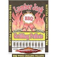 Lumber Jack 100 Percent Hickory BBQ Grilling Pellets 40 LB Bag