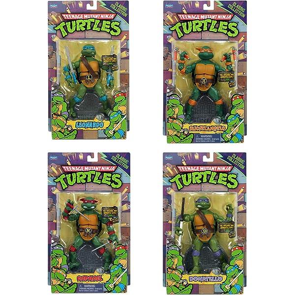 Amazon.com: Ninja Turtles 6 PCS Set - Teenage Mutant Ninja ...