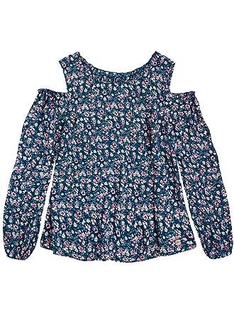 22d6e8b04 Pepe Jeans THEA Teen - Blusa Estampado - Niña (10 Años): Amazon.es ...