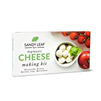 Beginners Cheese Making Kit - Make your own Goat, Mozzarella, Ricotta, Mascarpone, Burrata - New and improved version with more reliable and easier to use rennet