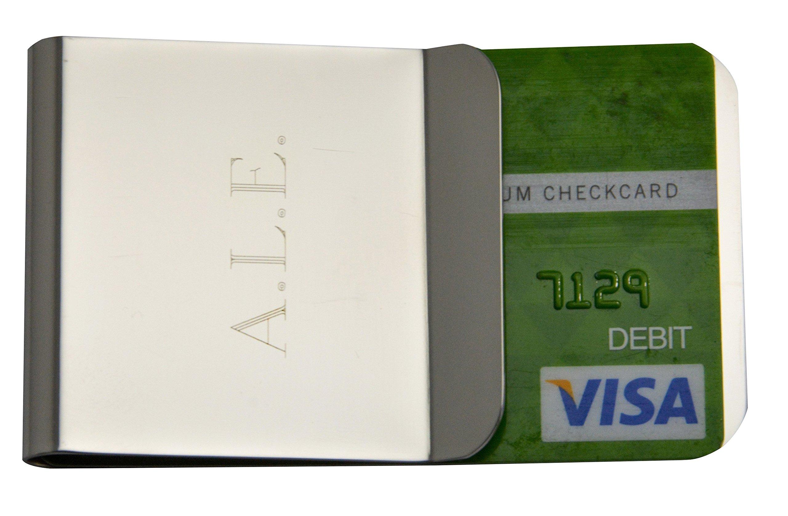 Money Clip Groomsmen Men Wedding Ideas Credit Card Holder Stainless Steel RFID
