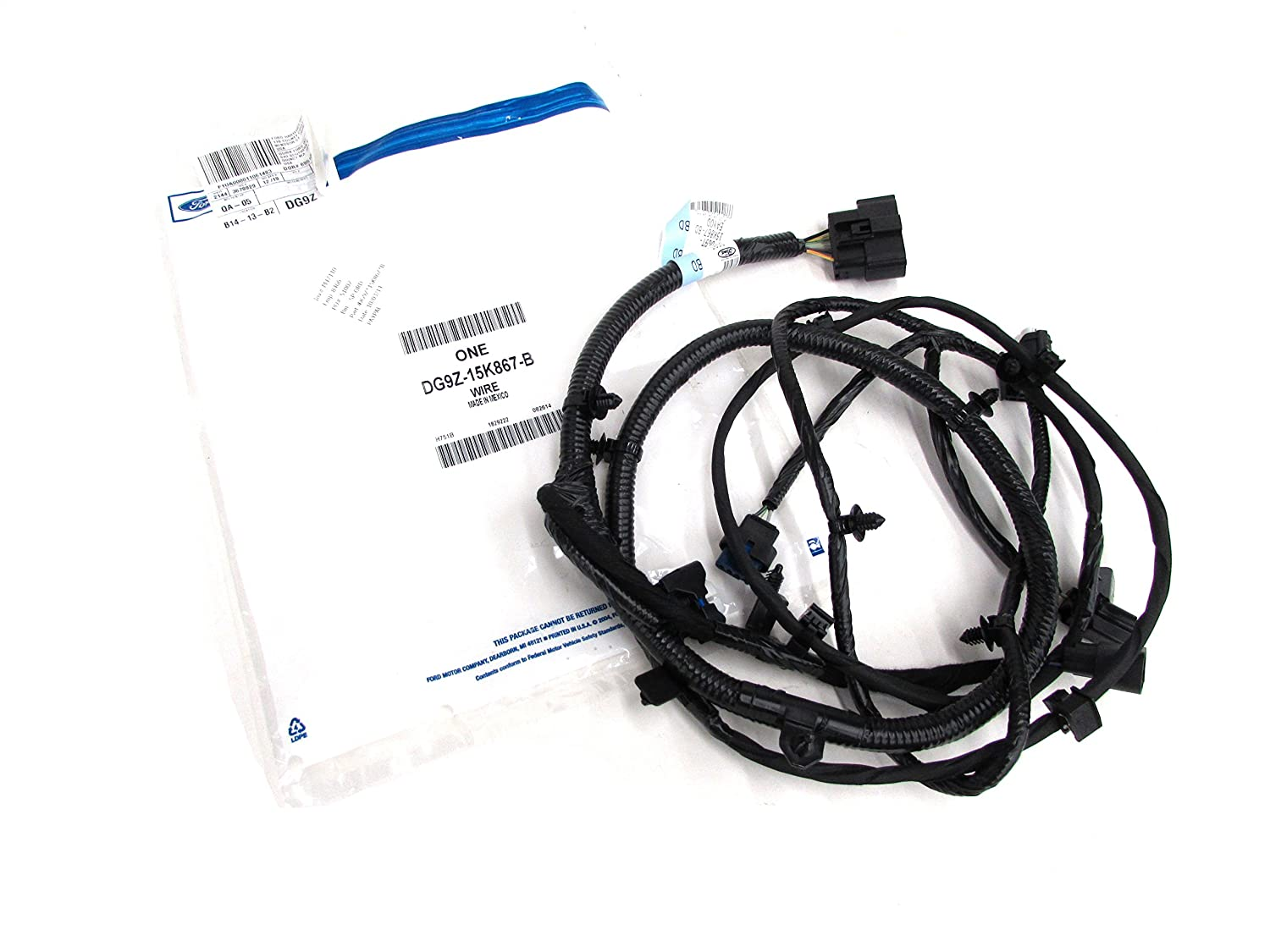 Amazon.com: 2013-2015 Ford Fusion Parking Fog Light Distance Control Wire  Harness OEM NEW DG9Z-15K867-B: Automotive
